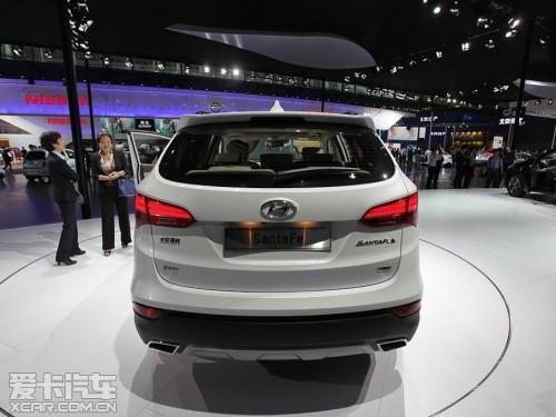 将推8款车型 北京现代全新胜达23日上市