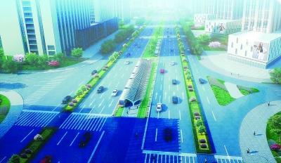 南京河西有轨电车最快3分钟一班 明年8月试运