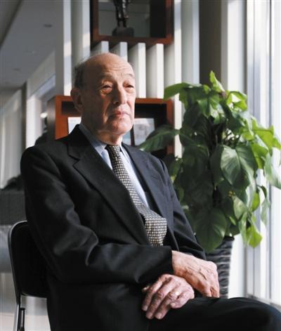 《邓小平时代》作者、哈佛教授Ezra Vogel(傅高义):一些美国人担心中国强大