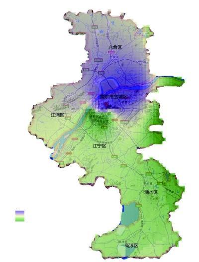 合肥市区地图全图