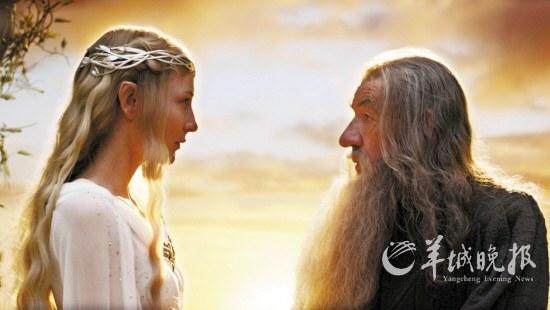 """中土世界 上映 进入 观众 《霍比特人》/精灵女王和灰袍巫师都是《指环王》的""""元老""""..."""