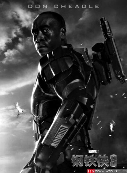 钢铁侠3 全新角色海报曝光 升级版战衣亮相 高清图片