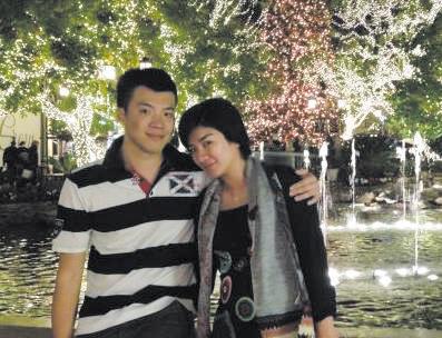 黄奕和她的丈夫黄毅清.