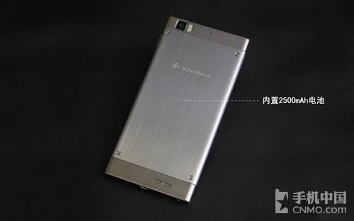 联想K900背面图-内存大了才更爽 2GB超大RAM强机盘点