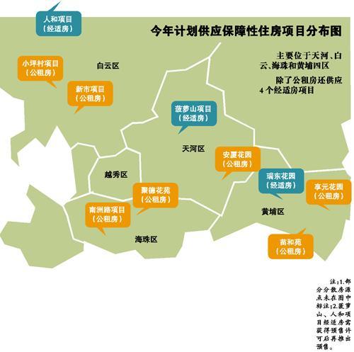 州市公租_广州今年计划供应公租房项目七个 有6600余套