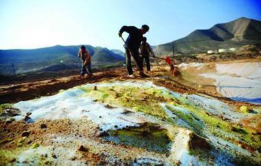 东大沟重金属污染治理是其参与的众多土壤修复项目之一.