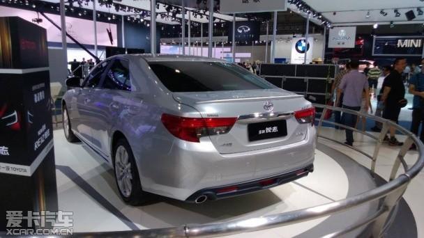 一汽丰田新锐志成都车展首发 将9月上市
