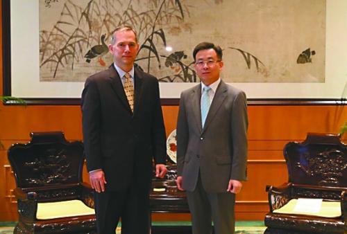 """中国外交部当面""""警告""""美驻港新领事夏千福:不许干涉香港内政"""