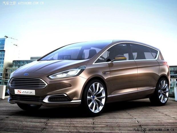 福特s-max概念车_大嘴式设计 福特s-max概念车将9月发布
