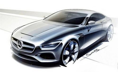 奔驰新s级coupe设计图-中新网