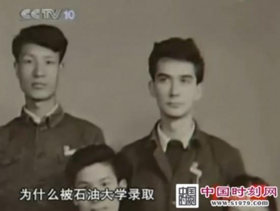 《人物》为王德民制作的专题片中曝光的王德民儿时照片与近照.