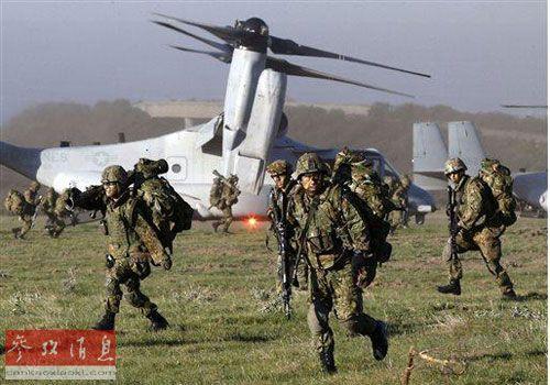 军事资讯_新闻中心 军事新闻    外媒称,日本地面,海上和空中自卫力量正在与