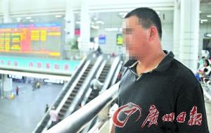 """黄国华/黄国华每天都在火车站与犯罪分子进行无声的""""暗战""""。记者黎..."""
