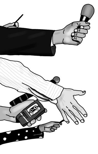记者最重要的自信缘于自身的力量