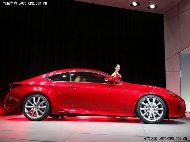 2013东京车展:雷克萨斯rc概念车发布