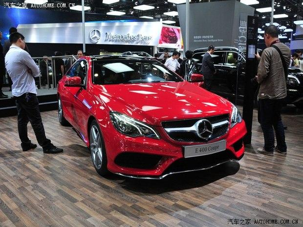 2013广州车展:奔驰新款e400 coupe上市