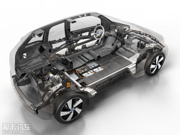 启动带动发电机来给电池充电,据悉宝马i3混动版车型搭载的将会是一台