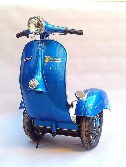 segway推出伟士牌摩托车外形电动车-中新网