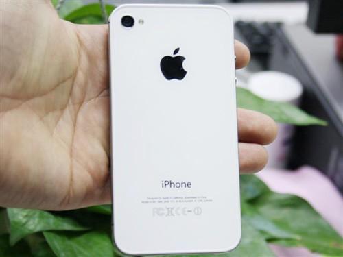 苹果4s手机矢量图