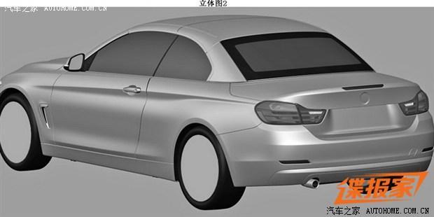 或2014年上市 宝马两款420i车型申报图