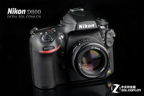 图为:尼康单反相机D800-高像素的诱惑力 尼康D800单机售15700元