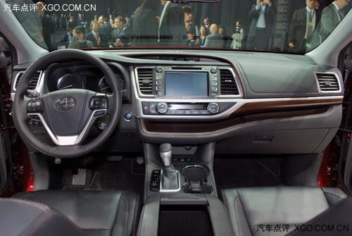 2013纽约车展 丰田全新汉兰达全球首发高清图片