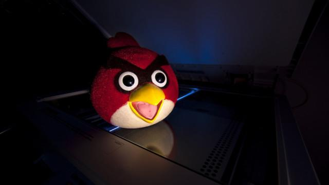 The NSA Spies on You Even When You Play Angry Birds