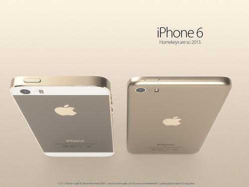 iPhone5s+iPad mini? iPhone6观点图暴光