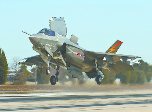 F-35成为当时亚太地域最热销的机型。