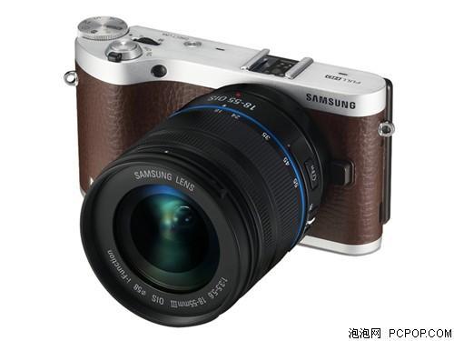 三星NX300套机(18-55mm) 棕色数码相机