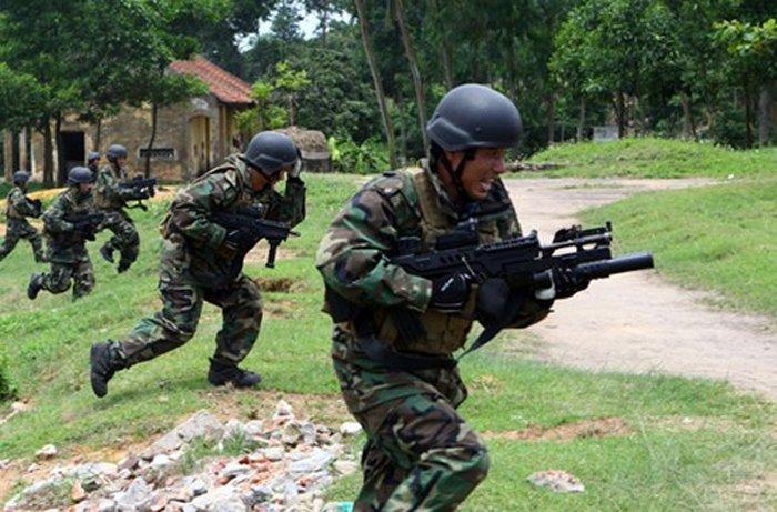 中国 越南/越南军队已装备以色列步枪