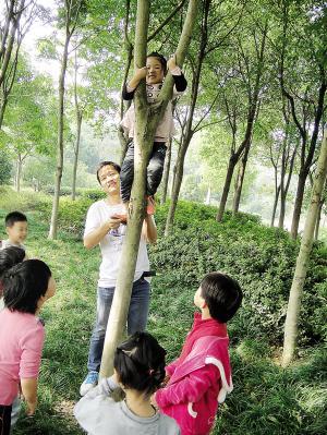 杭州市拱墅区推出杭城首位幼儿园男园长-中新网