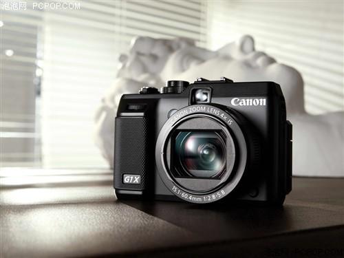 佳能G1 X 数码相机 彩色(1430万像素 3英寸可扭转液晶屏 4倍光学变焦 28mm广角)数码相机