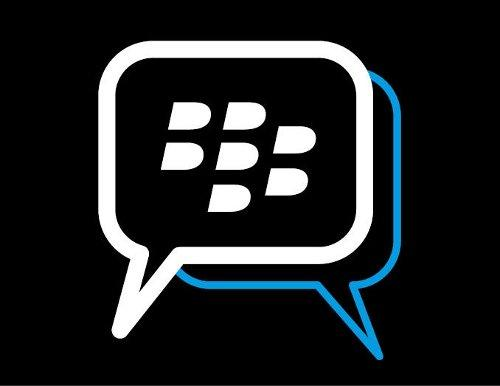 黑莓BBM效�诮裣牡前�Windows Phone渠道