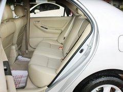 一汽丰田 花冠 1.6L AT 第二排座椅无视图