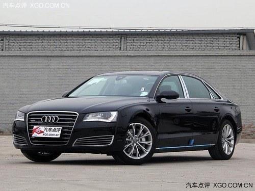 济南奥迪A8L最高优惠27.6万元 现车贩卖