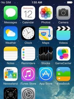 全世界�渭冶┕�? 疑似�O果iOS8界面被暴光
