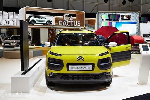 2014日内瓦车展 雪铁龙C4 Cactus表态