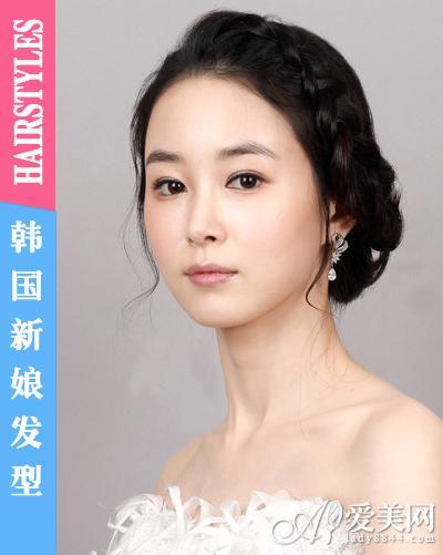 闪耀皇冠发饰 成就完美韩国新娘发型(组图)(13)图片