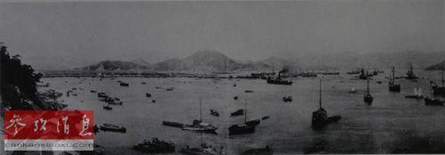 甲午战争时期的日本广岛宇品港,这里是甲午战争期间日本_陆军向大陆前进的出发地。(资料图片)