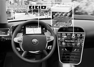 大陆集团提出汽车驾驶舱系统集成概念-中新网