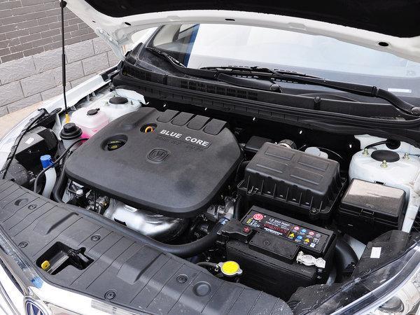 长安乘用车 1.6L 手动 发起机主体特写