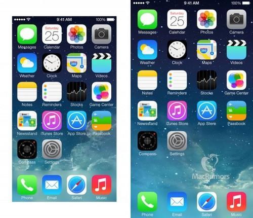 空隙增大 4.7英寸iPhone6界面这个姿态?