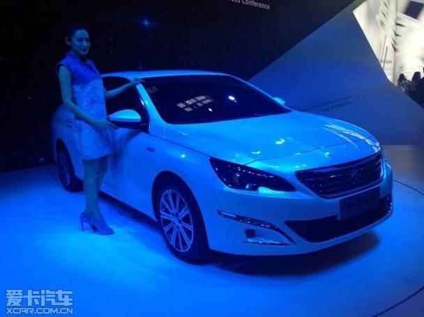 东风标致新408北京车展发布 新平台打造
