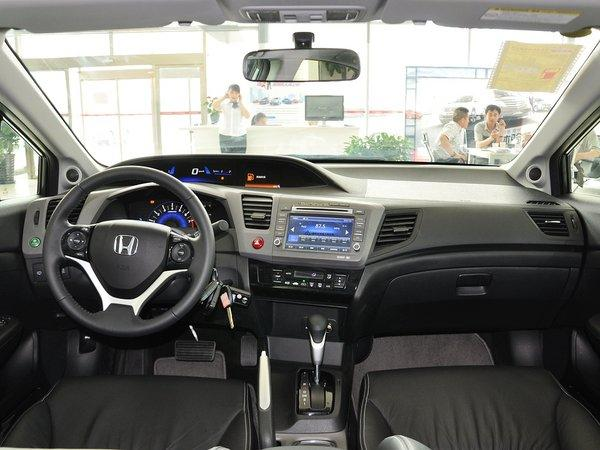 春风本田 1.8L 主动 中控台全体