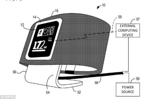两年前专利暴光 微软或筹算推智能腕表