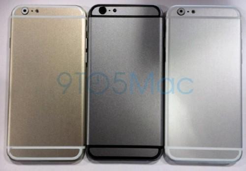 三个版别齐备 土豪金iPhone6模子暴光