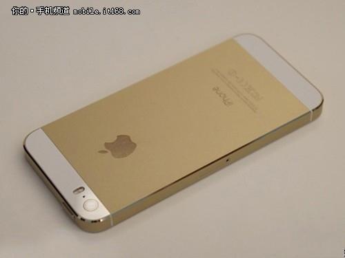 ▲苹果iPhone 5s金色版