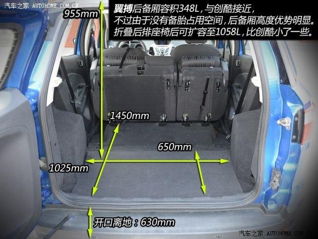 长安福特 翼搏 2013款 1.5L 主动高贵型