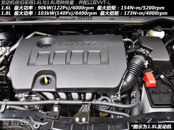 动力系统方面,第十一代卡罗拉依旧搭载了1.6L以及1.8L两个不同排量的发动机。在代号上(与老款同样为1ZR、2ZR)与老款相同,发动机的整体结构以及技术与老款相比并无太大改变。笔者从日方工程师处获悉,新车型的发动机在缸体以及活塞的加工上要优于老款机型,并能够有效减小摩擦阻力,精度更高,油耗自然也有下降。关于十一代卡罗拉是否会像上一代车型一样提供2.